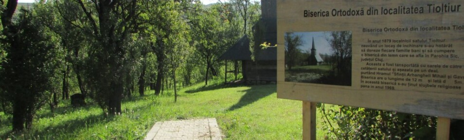 MONUMENT ISTORIC – Biserica din lemn Tioltiur sec. XVIII- lea