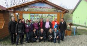 Turisti elvețieni în Comuna Cornești